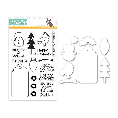 Simon Says Stamps And Dies MERRY AND BRIGHT Set313MB Making Spirits Bright Preview Image