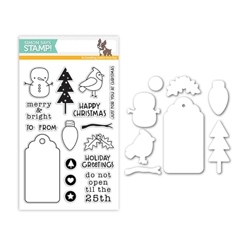 Simon Says Stamps And Dies MERRY AND BRIGHT Set313MB Making Spirits Bright