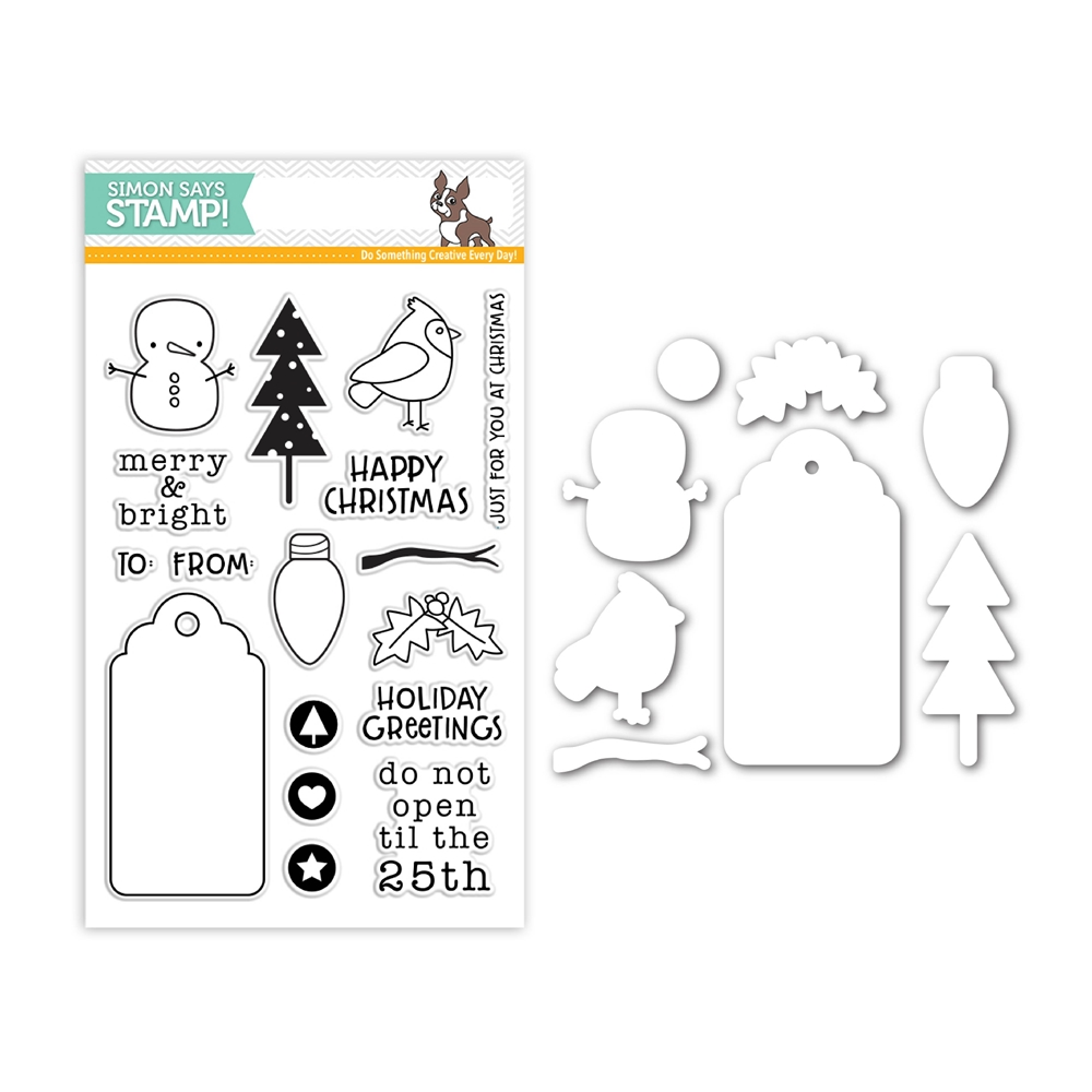 Simon Says Stamps And Dies MERRY AND BRIGHT Set