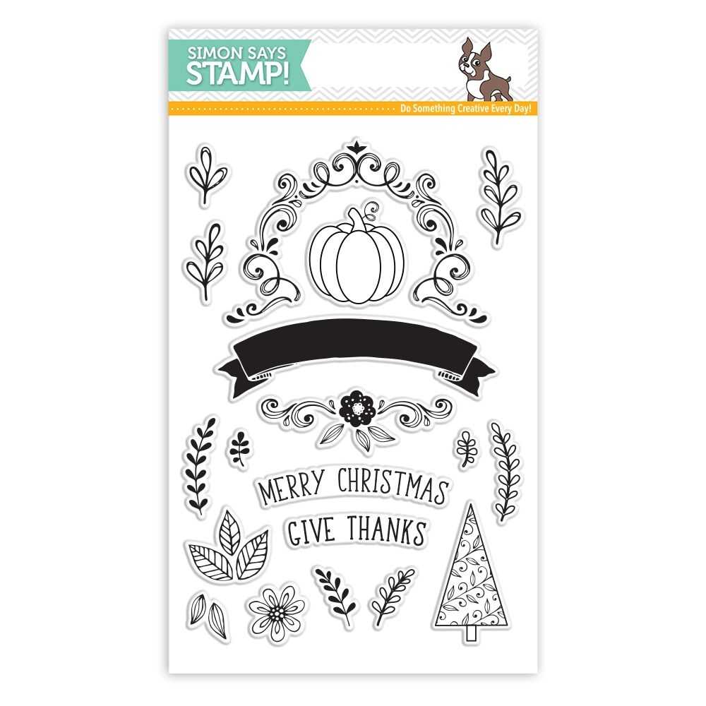 Simon Says Clear Stamps GIVE THANKS