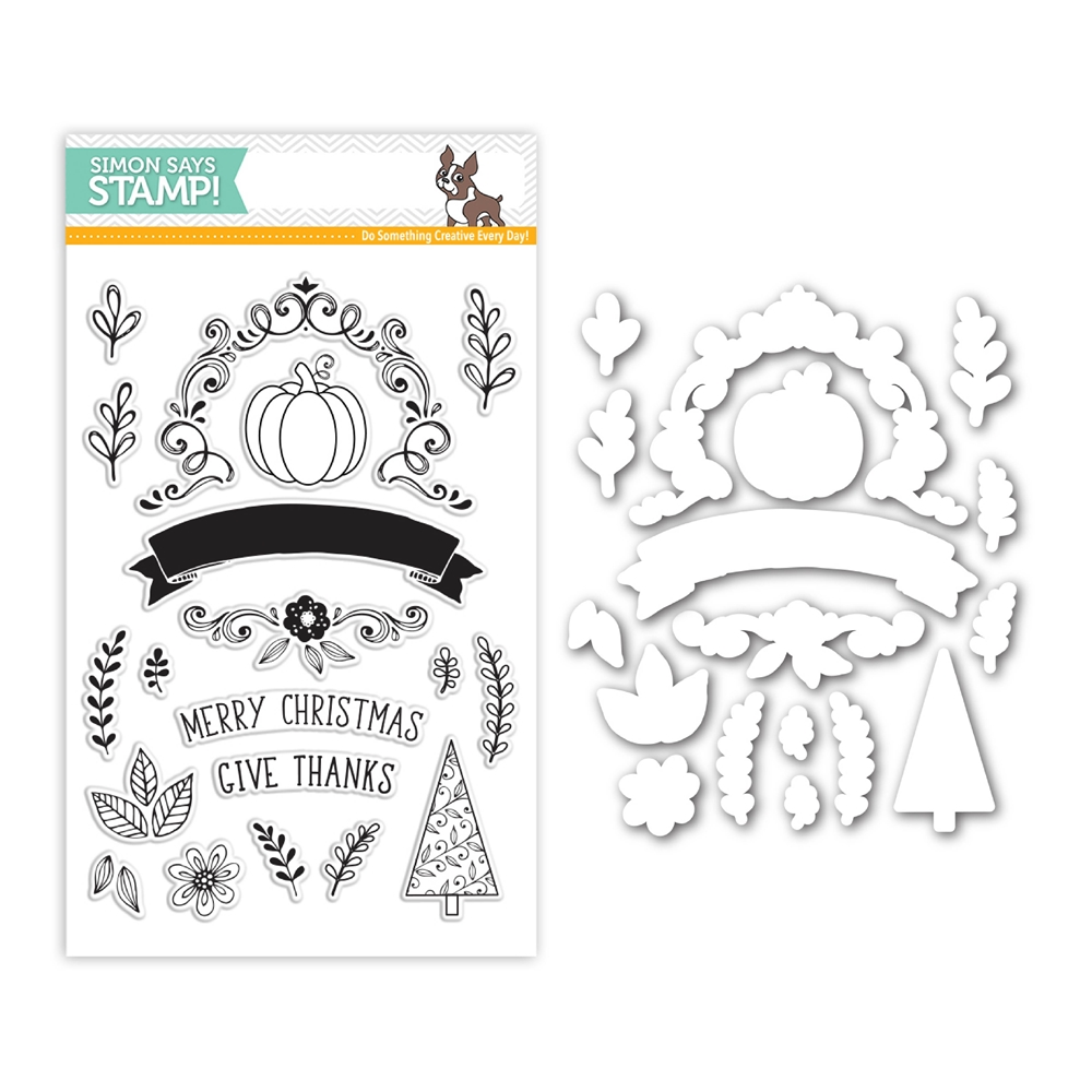 Simon Says Stamps And Dies GIVE THANKS Set