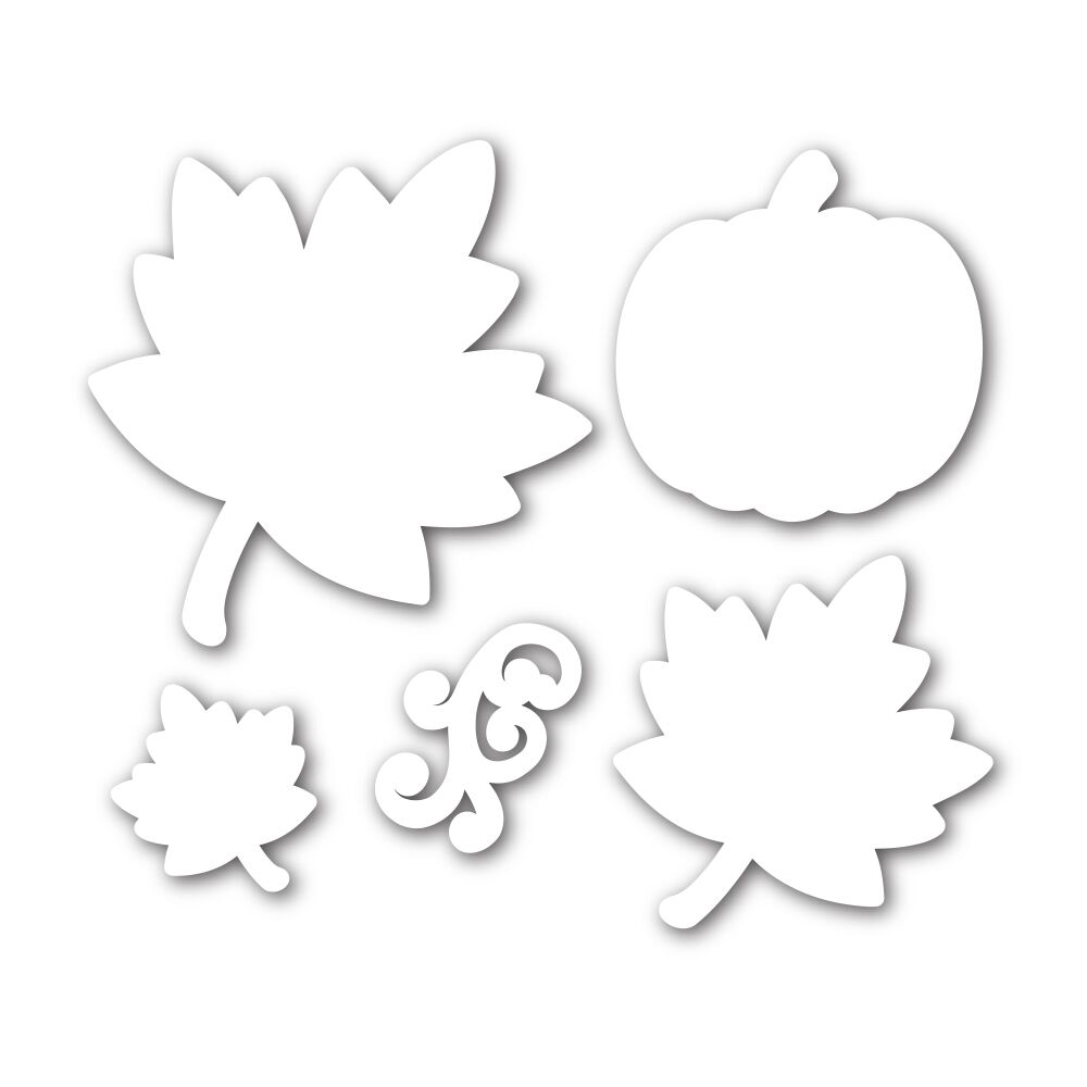 Simon Says Stamp ORNATE LEAVES Wafer Dies