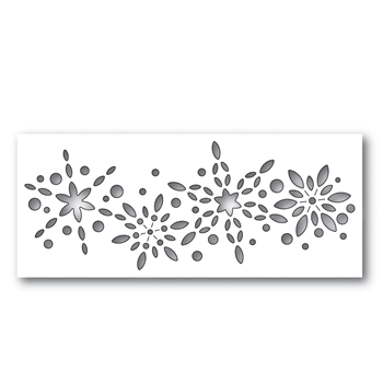 Simon Says Stamp SNOWBURST COLLAGE Wafer Dies S482 Making Spirits Bright