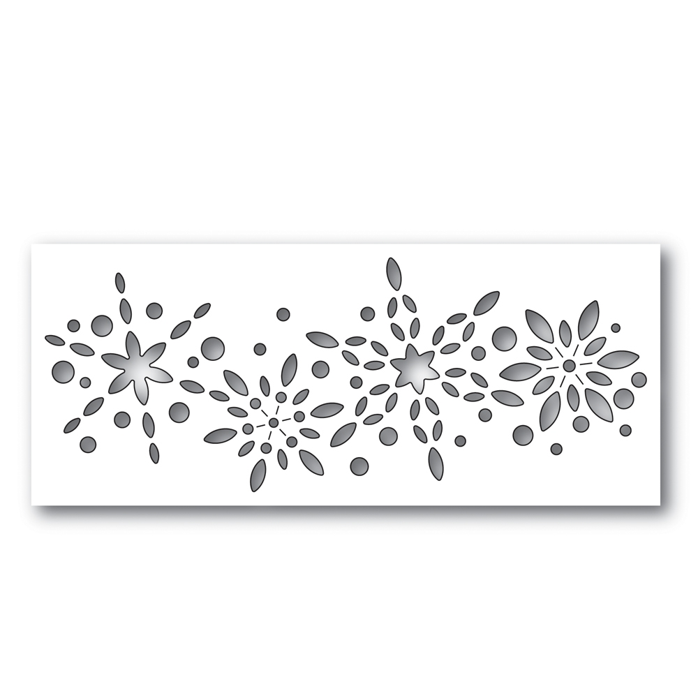 Simon Says Stamp SNOWBURST COLLAGE Wafer Dies