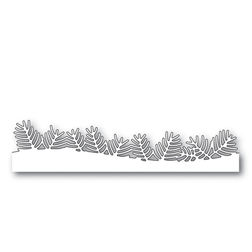 Simon Says Stamp PINE NEEDLE BORDER Wafer Dies S489 Making Spirits Bright Preview Image