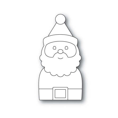 Simon Says Stamp PICTURE BOOK SANTA Wafer Dies S492 Making Spirits Bright Preview Image