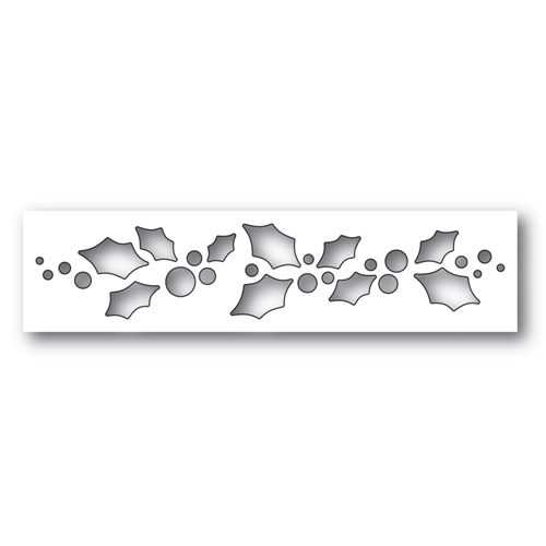Simon Says Stamp HOLLY FANFARE Wafer Dies S493 Making Spirits Bright Preview Image