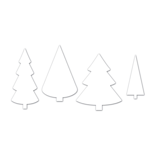 Simon Says Stamp CHRISTMAS TREES Wafer Dies SSSD111745 Making Spirits Bright Preview Image