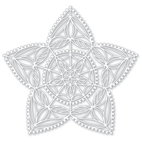 Simon Says Stencils CHRISTMAS STAR STENCIL SSST121398 Making Spirits Bright Preview Image