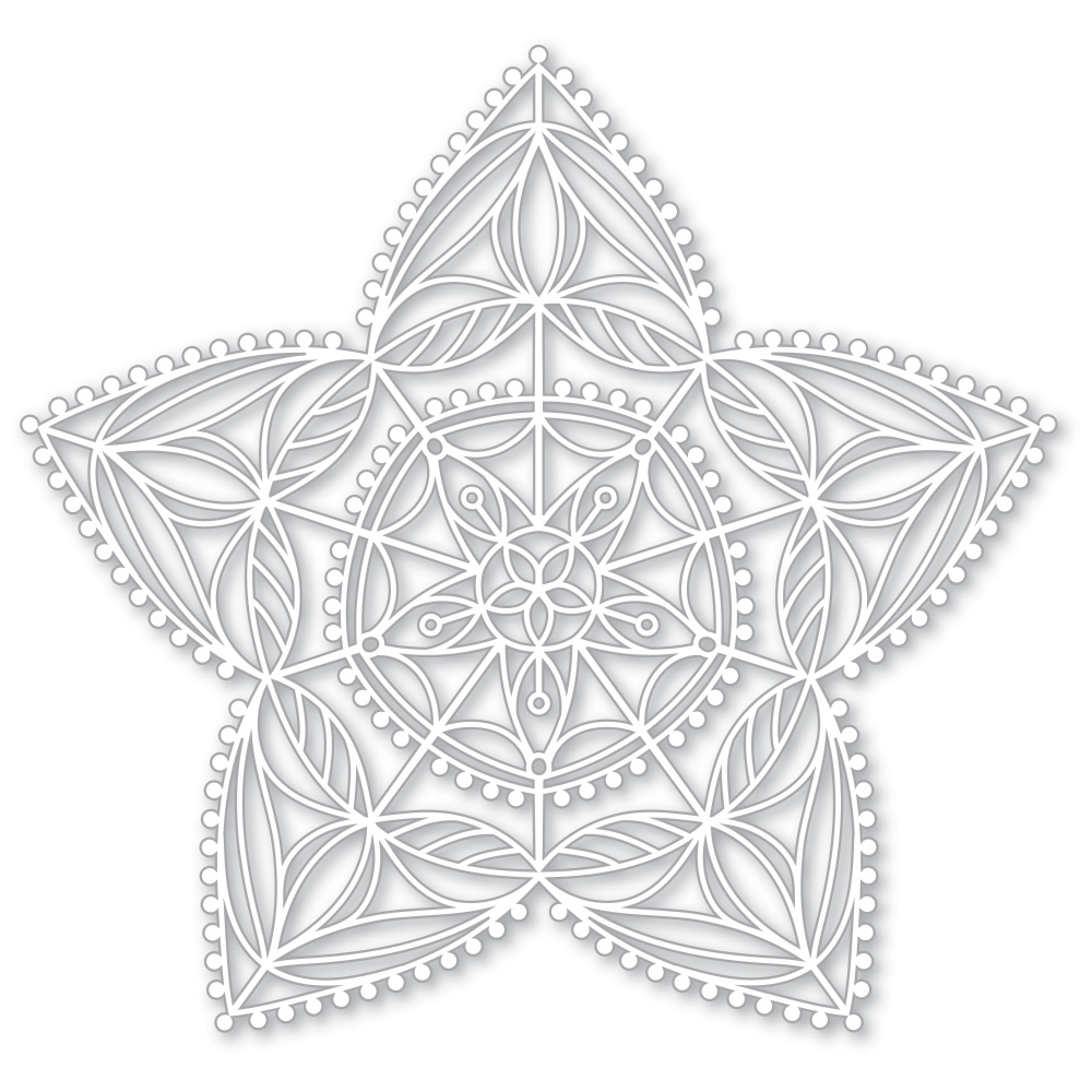 Simon Says Stencils CHRISTMAS STAR STENCIL SSST121398 Making Spirits Bright zoom image