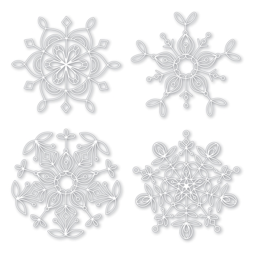 Simon Says Stencils FROZEN FRACTALS STENCIL SSST121400 Making Spirits Bright Preview Image