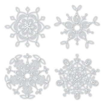 Simon Says Stencils FROZEN FRACTALS STENCIL SSST121400 Making Spirits Bright