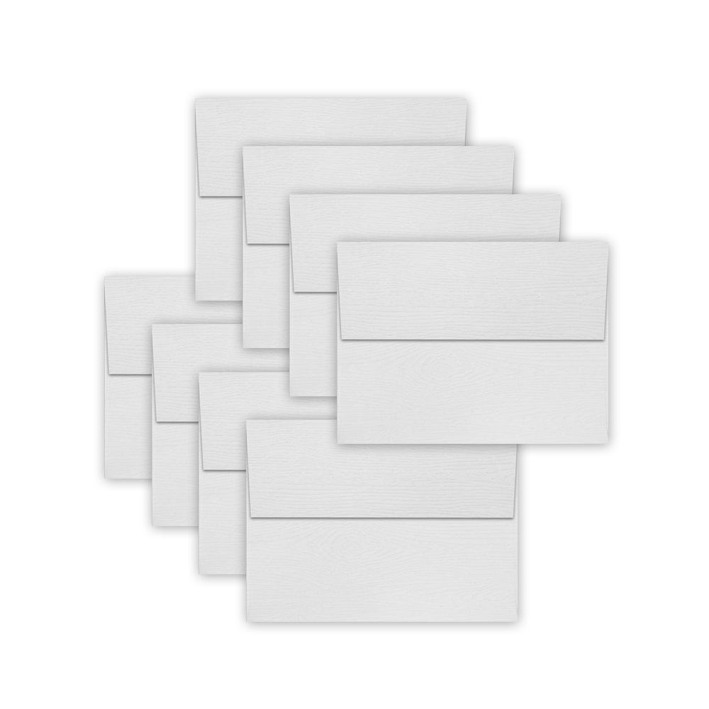 Simon Says Stamp Envelopes WHITE WOODGRAIN
