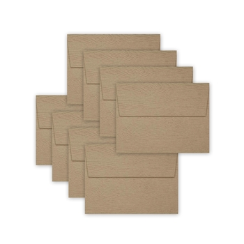 Simon Says Stamp Envelopes KHAKI WOODGRAIN SSSE58 Making Spirits Bright