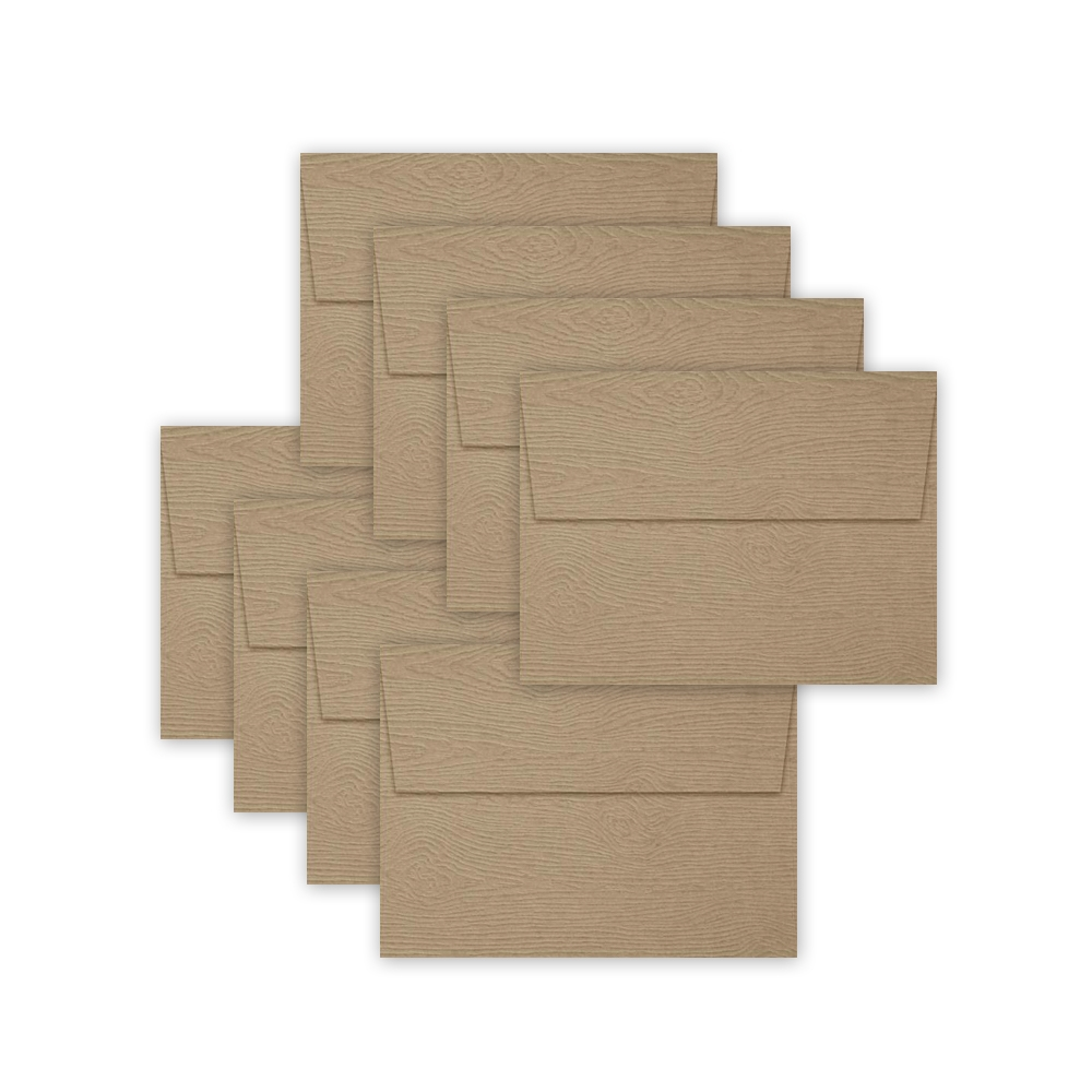 Simon Says Stamp Envelopes KHAKI WOODGRAIN