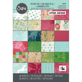 Sizzix PICTURE THIS 4x6 Cardstock Pad 662184