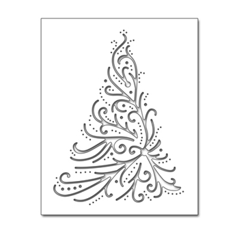 Penny Black CHRISTMAS ELEGANCE Thin Metal Creative Die 51-391