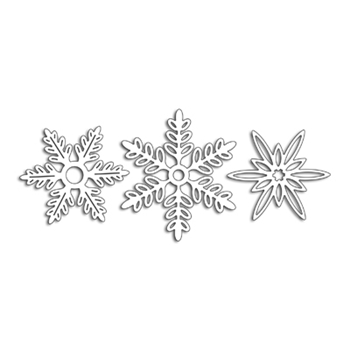 Penny Black SNOWFLAKES Thin Metal Creative Die 51-383