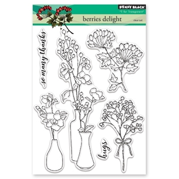 Penny Black Clear Stamp BERRIES DELIGHT 30-449