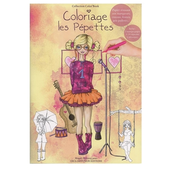 Carabelle Studio PEPETTES Coloring Book GECOLBOOK3