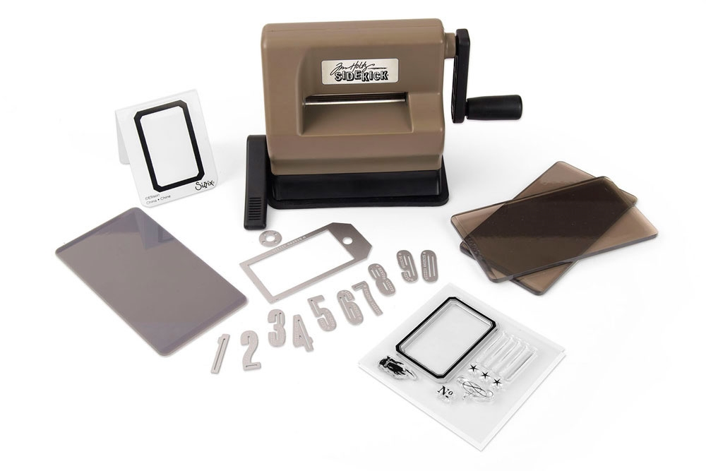 Tim Holtz Sizzix SIDEKICK STARTER KIT Die Cutting Machine 662535 zoom image