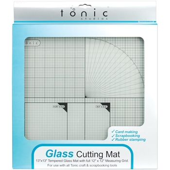 Tonic 12 x 12 TEMPERED GLASS CUTTING MAT TGM465