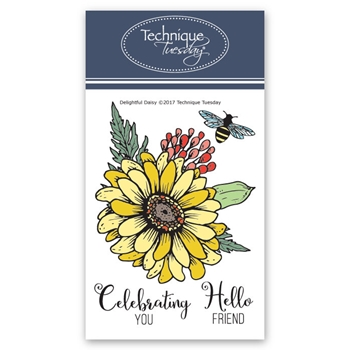 Technique Tuesday DELIGHTFUL DAISY Clear Stamps 02553