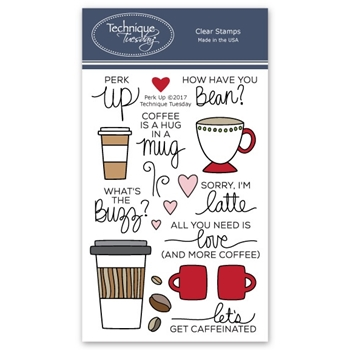 Technique Tuesday PERK UP Clear Stamps 02570
