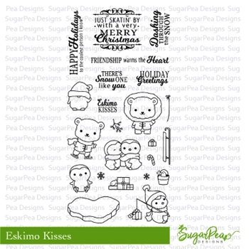 SugarPea Designs ESKIMO KISSES Clear Stamp Set SPD-00249