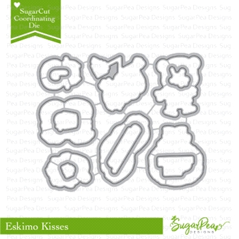 SugarPea Designs ESKIMO KISSES SugarCuts Dies SPD-00250