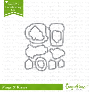 SugarPea Designs MUGS & KISSES SugarCuts Dies SPD-00256
