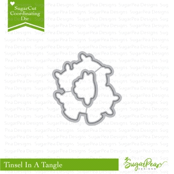 SugarPea Designs TINSEL IN A TANGLE SugarCuts Dies SPD-00260