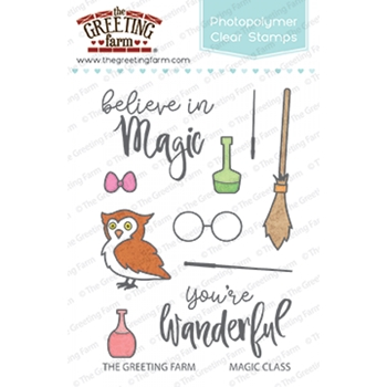 The Greeting Farm MAGIC CLASS Clear Stamps TGF352