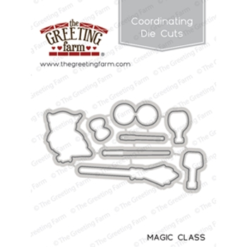 The Greeting Farm MAGIC CLASS Coordinating Die Cuts TGF353