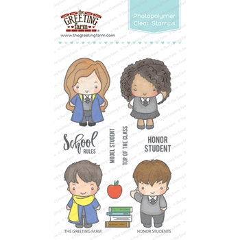 The Greeting Farm HONOR STUDENTS Clear Stamps TGF358