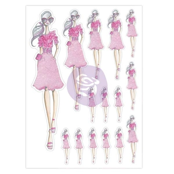 Prima Marketing TEA TIME Josefina Planner Stickers 930196