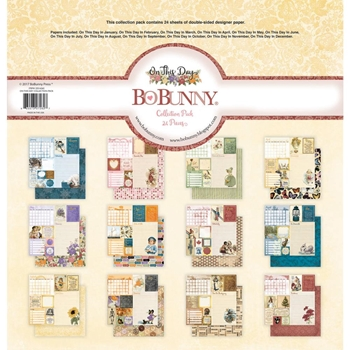 BoBunny 12 x 12 ON THIS DAY Collection Pack 22516262