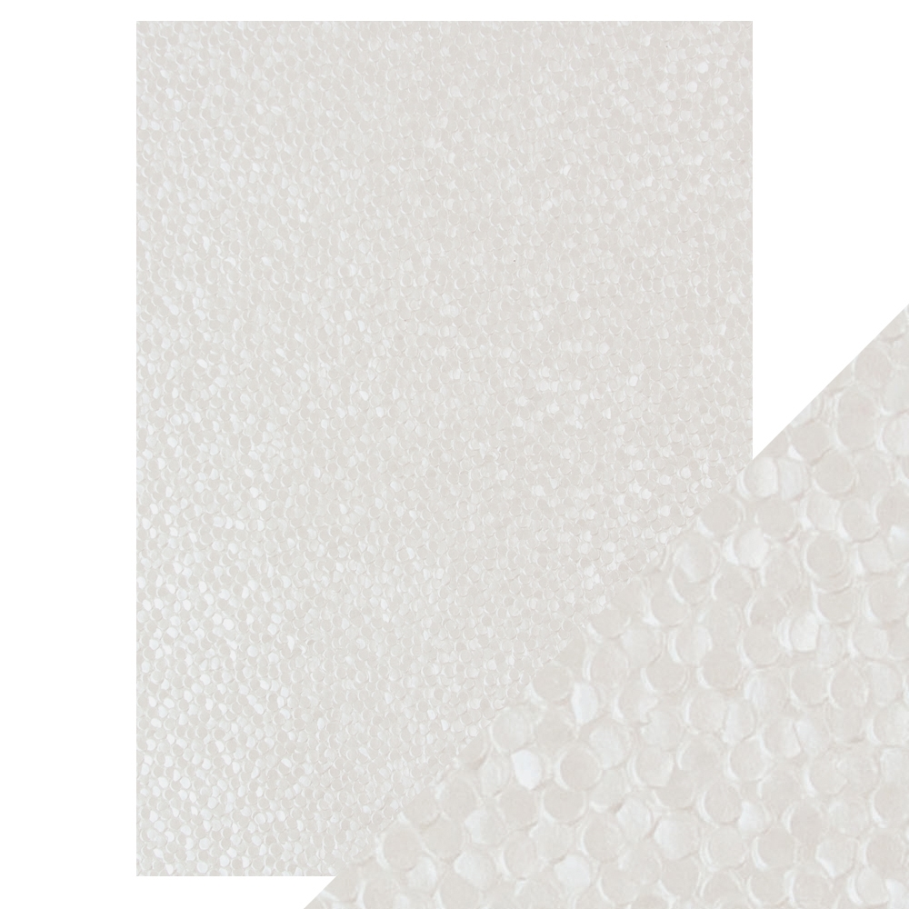 Tonic FRESHWATER PEARLS Hand Crafted Embossed Cotton A4 Paper Pack 9809e zoom image