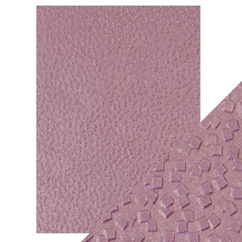 Tonic FALLING GLITTER Hand Crafted Embossed Cotton A4 Paper Pack 9810e