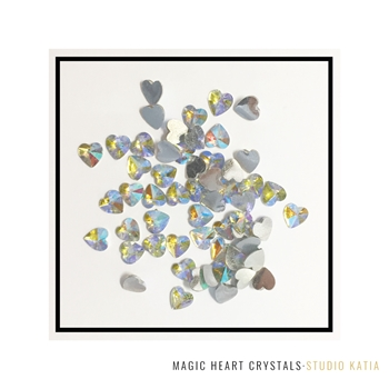 Studio Katia MAGIC HEARTS Crystals sk2424