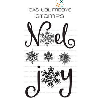CAS-ual Fridays JOY Clear Stamps CFS1721
