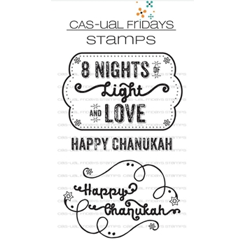 CAS-ual Fridays CHANUKAH Clear Stamps CFS1720