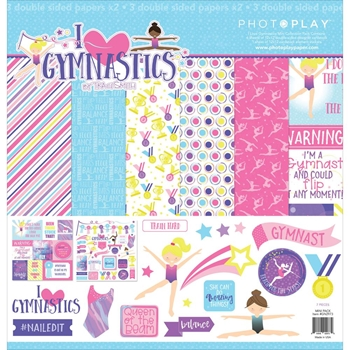 PhotoPlay I LOVE GYMNASTICS 12 x 12 Collection Pack gn2973n