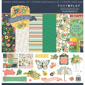 PhotoPlay THINKING OF YOU 12 x 12 Collection Pack ty2978n