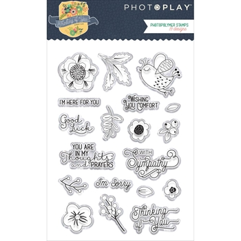 PhotoPlay THINKING OF YOU Clear Stamps ty2979