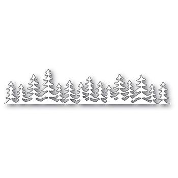 Memory Box EVERGREEN LANDSCAPE Craft Die 99886