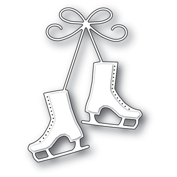 Memory Box CLASSIC ICE SKATES Craft Die 99889