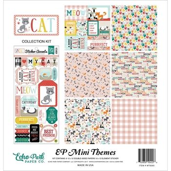 Echo Park CAT 12 x 12 Mini Themes Collection Kit mt9305
