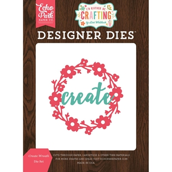 Echo Park CREATE WREATH Die Set ibc138040