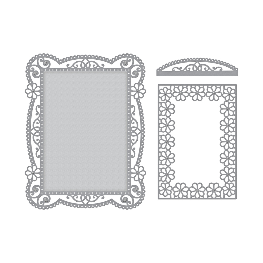 S5-328 Spellbinders TALLULAH FRILL LAYERING FRAME SMALL Etched Dies* zoom image